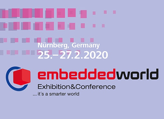 Embedded World 2020 (Nuremberg, Germany)